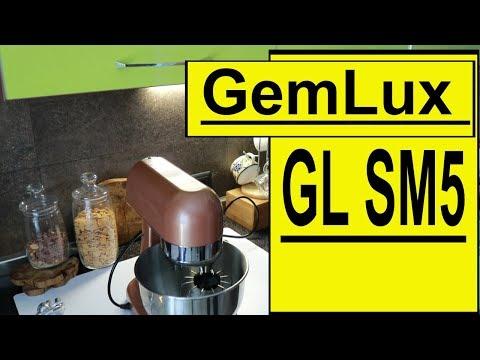 Планетарный миксер ❤️ GEMLUX GL-SM5G ❤️ ЧЕСТНЫЙ Обзор ❤️ RusLanaSolo
