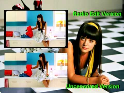 Lily Allen Alfie Music Video Two Versions Youtube