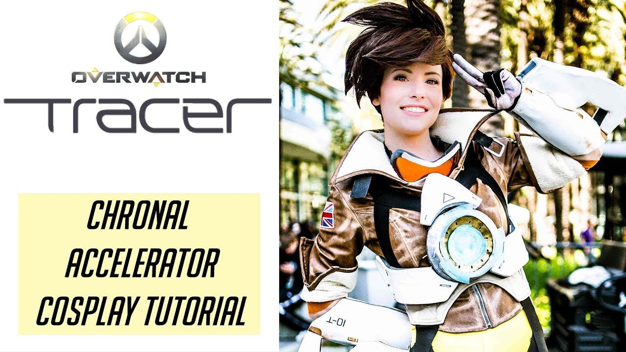 Tracer Cosplay Tutorial