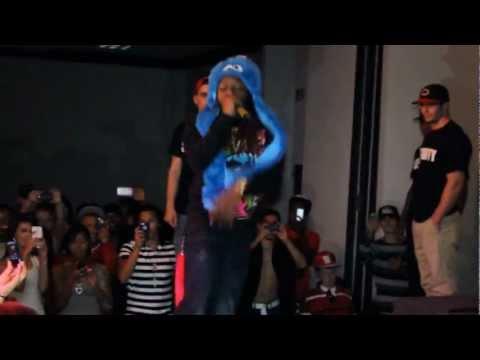 Lil Chuckee show in Bristol, Va Oct. 2012! (Plus: Blevins, B Milli, Julz, Dmaine, Fling, & Jenningz)