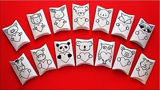 DIY Valentine's Day Pillow Gift Box | Recycled Crafts For Kids | Recycle Toilet Paper Roll Crafts