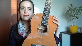 Урок 3 (часть 3) Итальянская песня КОЛЫБЕЛЬНАЯ ДЛЯ НИНЫ для 2-х гитар (Разбор). Паузы.