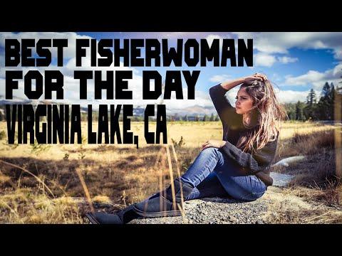 Virginia Lake Fishing! She Out Fished Everyone!