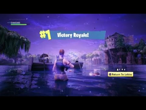 Fortnite, Stairway To Heaven, and Launch Pad Victory Royale!!!!