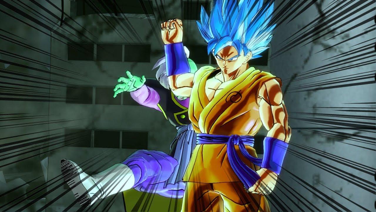 New Custom SSB Goku w/Anime Moveset - Dragon Ball Xenoverse 2 Mods