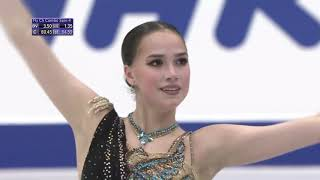 Алина Загитова Гран при NHK Trophy Произвольная программа