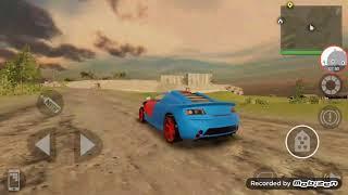 Yeni arabamla hız testi ( arabayı mahvettik)😅