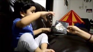 2-Year old kid saying Periodic Table - Sri Tejas