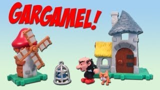 Smurfs Micro Village Gargamel Castle and Windmill Playset Review