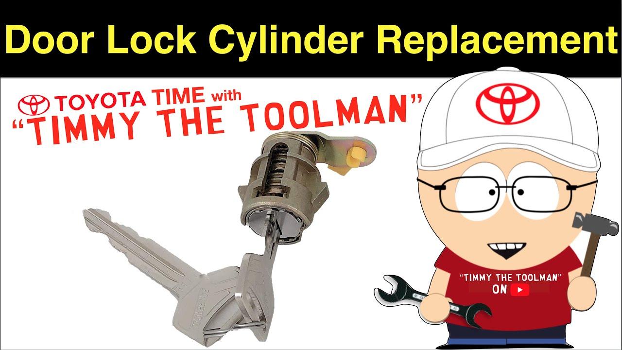 Door Lock Cylinder Replacement Youtube