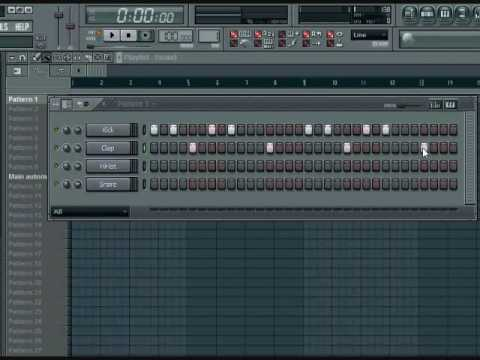 FL Studio 9 Beginners Tutorial Pt. 1 - YouTube