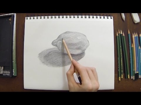 LESSON: Drawing a Lemon | Real-Time Drawing Lesson Video