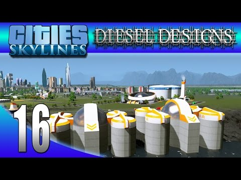 Cities: Skylines: S516: Futuristic Water & Energy Assets! (City Building Series)
