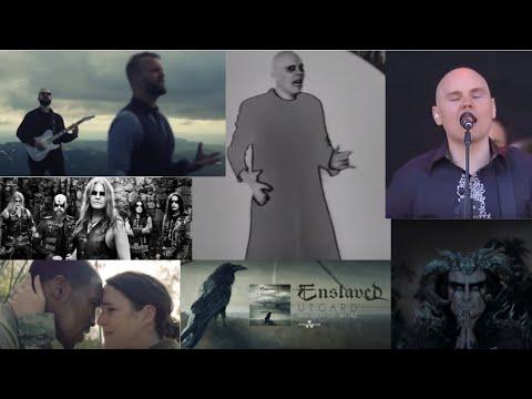 "Smashing Pumpkins debut 2 new songs! - Enslaved, ""Urjotun"" - new Ihsahn video - new I Prevail video"
