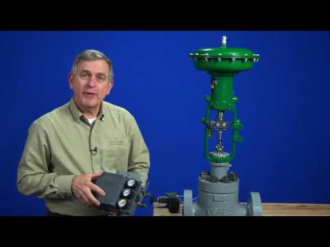 Mounting A Fisher 3582 Positioner On A Control Valve Assembly