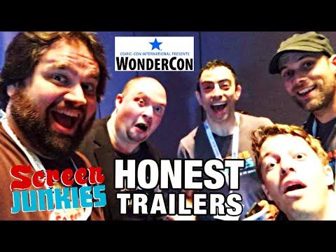 SCREEN JUNKIES HONEST TRAILERS PANEL (WonderCon 2015)