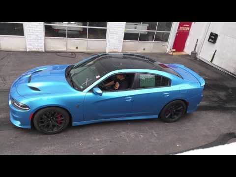 2016 Dodge Charger Hellcat Burnout