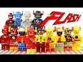 LEGO The Flash & The Reverse-Flash Unofficial Minifigures Justice League & CW's Kid Flash