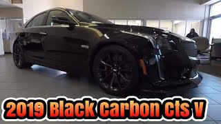 2019 Cadillac Cts v Carbon Package walk around and overview