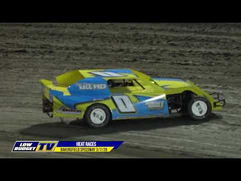 IMCA Modifieds, IMCA Sport Mods, IMCA Stock Cars and American Stocks all returned to the historic Bakersfield Speedway to start the 75th season of racing on ... - dirt track racing video image