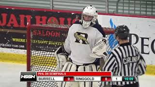 PIHL Division II Semifinals - Burrell vs Ringgold