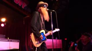 Moving Sidewalks featuring Billy Gibbons - Red House - BB Kings NYC - 3-30-13
