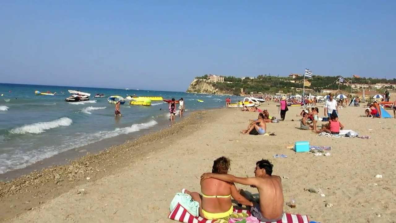 Фото пляжа на о.закинтос