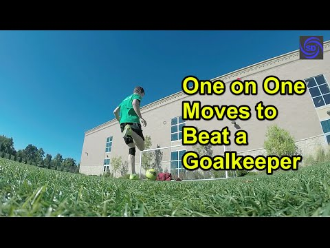three soccer strategies to beat a keeper in a one on one