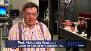 Center for Soft Matter Research, New York University - The Frontier of Science