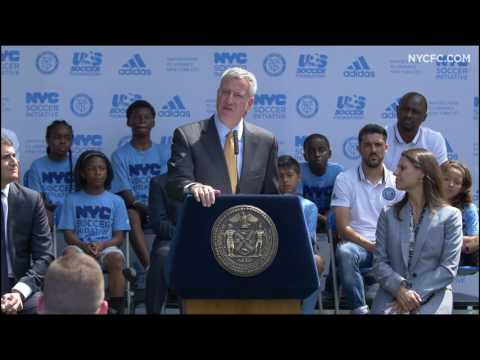 PRESS CONFERENCE | New York City Soccer Initiative