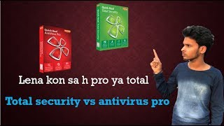 difference in quick heal total & security Quick Heal Antivirus pro - 2017 (Save Money)