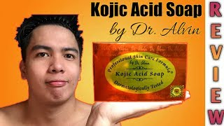 Kojic Acid Soap By Dr. Alvin Honest Review | 1 Week Failed Trial | Philippines