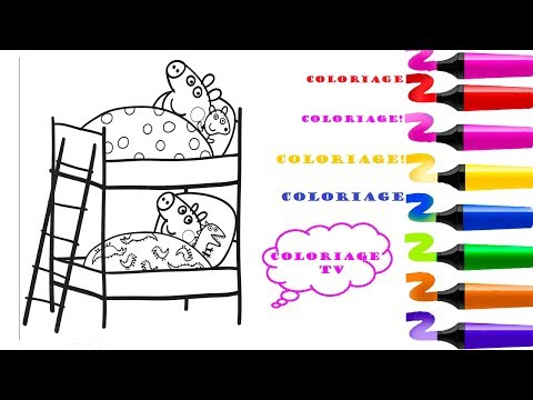 Coloriage Magique Peppa Cochon Peppa Pig George Pig