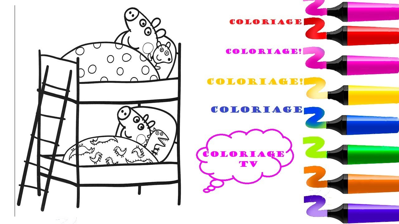 Coloriage Peppa Pig Dessin Facile Coloriage Peppa Pig