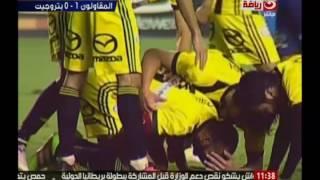 كورة كل يوم   ملخص مباراة بتروجيت و المقاولون بالدوري المصري العام