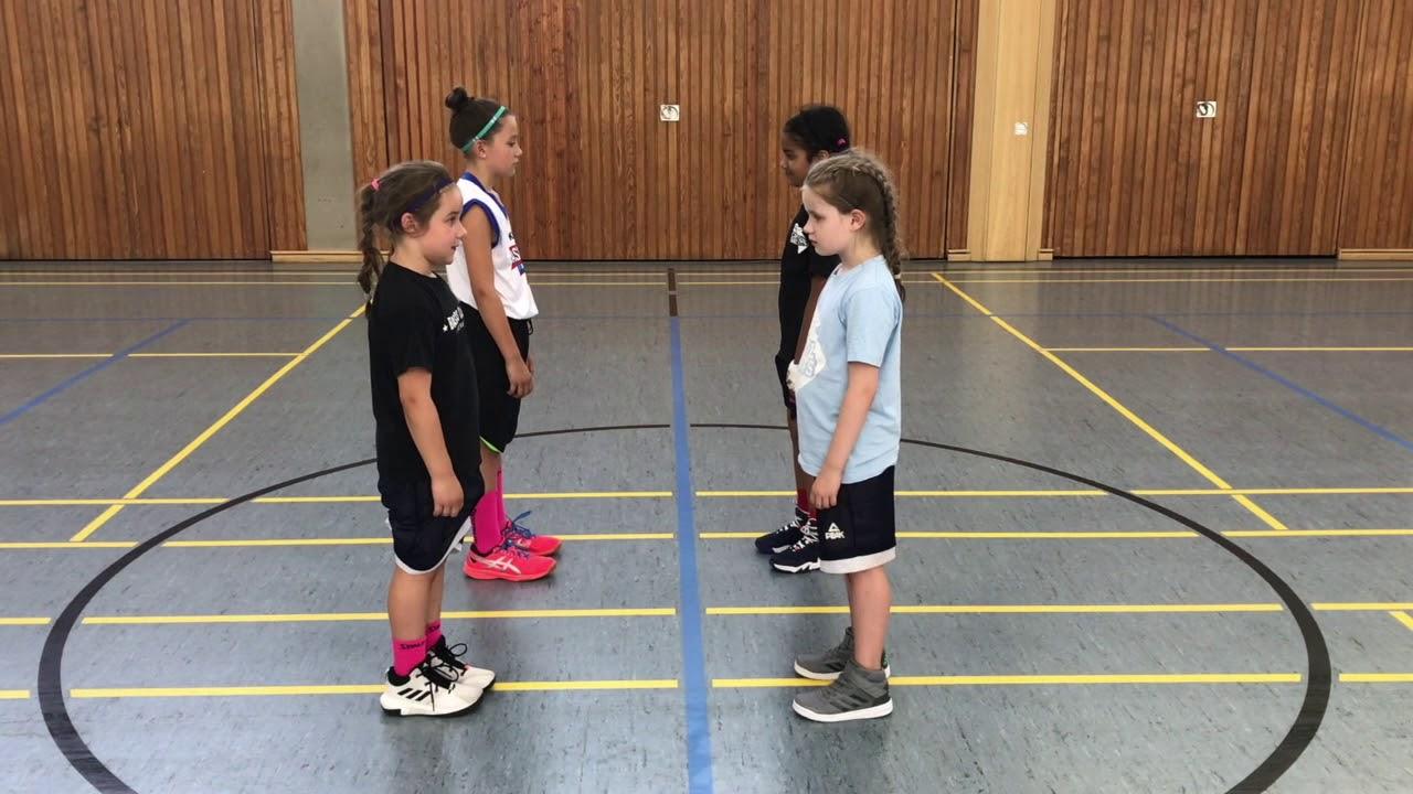 3 great Basketball Drills for Beginner Kids