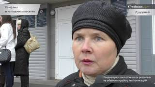 Конфликт в коттеджном поселке Лудорвай, Удмуртия