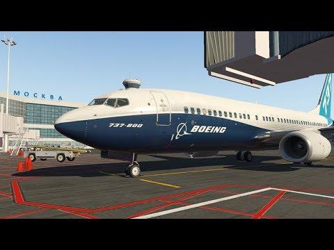 Обновленный Boeing 737-800. Москва - Минеральные Воды (UUDD-URMM)