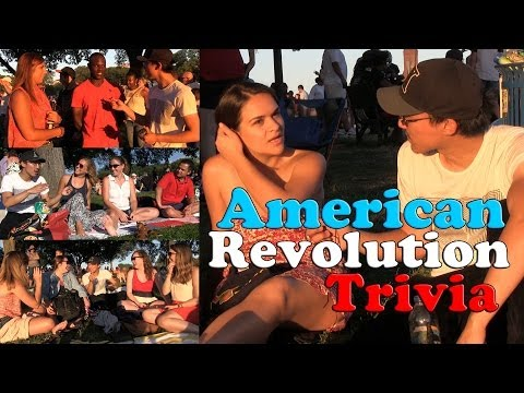 Americans Are Smart? Independence Day American Revolution Trivia - July 4
