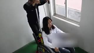 Лестничный подъемник для инвалидной коляски электрический 11-С. Часть 2.
