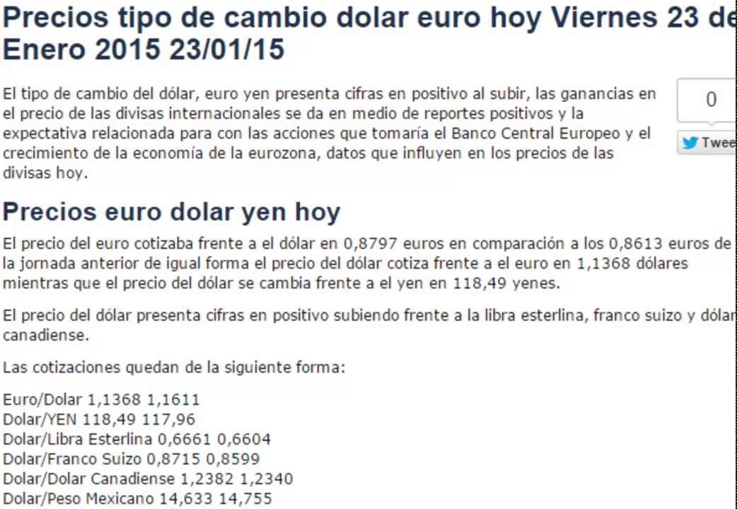 3,78 3,81 3,83 3,85 3,87 3,89 sep. 02 sep. 17 oct. 02 oct. 17 nov. 01 nov. 16 dic. 01 dic. 16 Historial diario del tipo de cambio de EUR a PEN Tasa de cambio de Euro a Sol Perú: 1 EUR = 3, PEN.