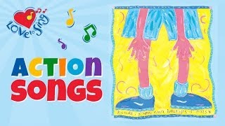 Hands Knees and Boomps a Daisy - Children Love to Sing Kids Action Songs
