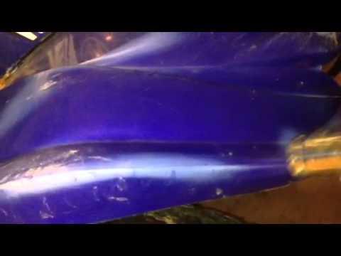 Atv plastic repair