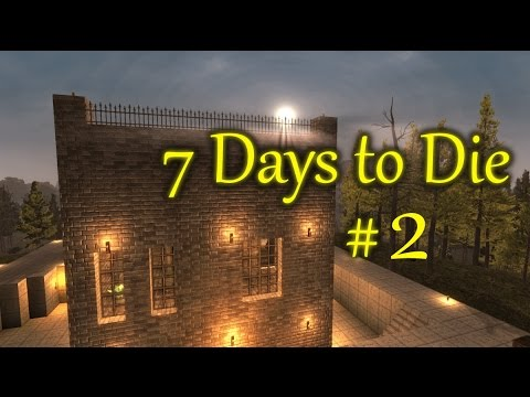 7 days to die baby geesus fort hardcore survival 2 youtube. Black Bedroom Furniture Sets. Home Design Ideas
