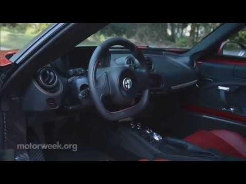 MotorWeek | Road Test: 2015 Alfa Romeo 4C