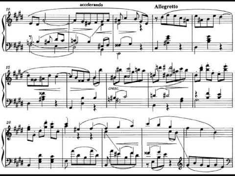 Liadov - Three Pieces Op.57