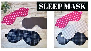 Quick and Easy Sleep Mask   Eye Mask