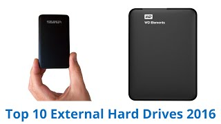 10 Best External Hard Drives 2016