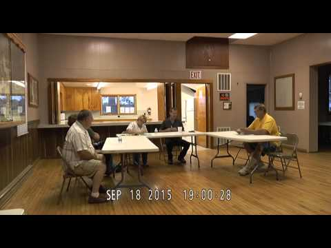 Village of Oakley Special Meeting - Sept 18, 2015