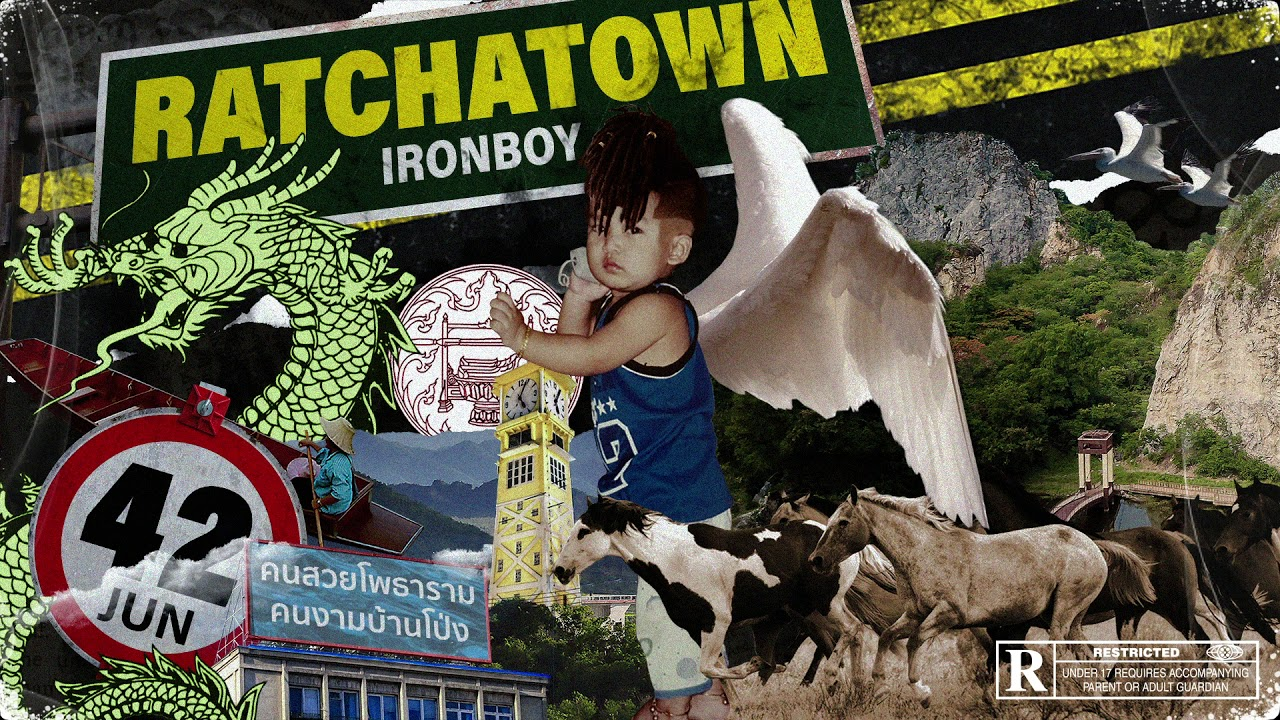 IRONBOY - RATCHATOWN [Official Audio]